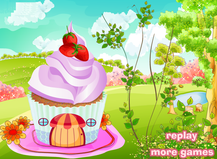 Cupcake House Decorating Games By Kute89 On Deviantart