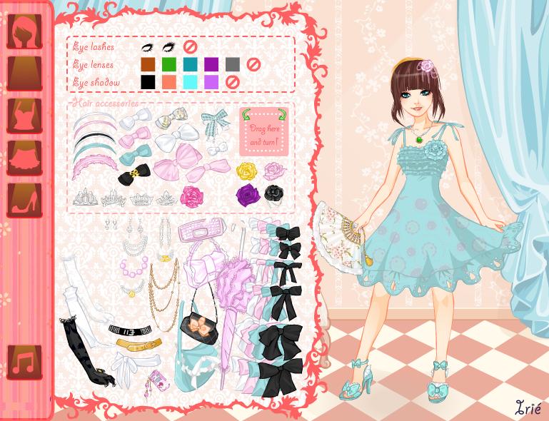 Anime Couple Dress up Games Anime Princess Dress up Game