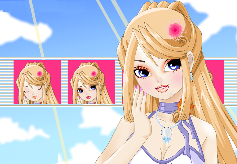 Anime Dress up Games at Dressup24h.com
