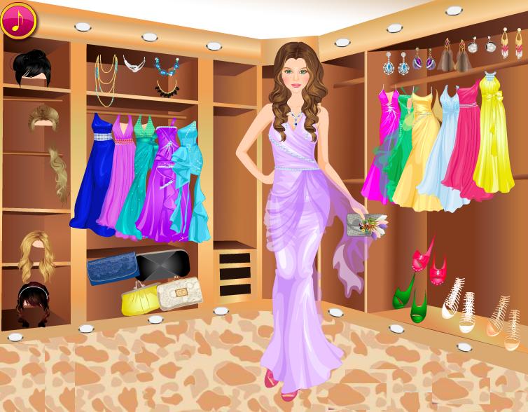 Night Dresses Up Games | Fashions Dresses