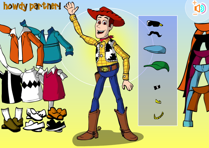 Woody Toy Story Games : Woody dress up game by kute on deviantart