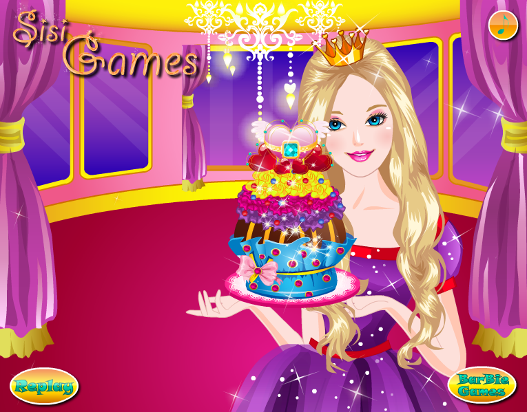 Barbie Glittery Cupcake - Cooking Games by kute89 on ...