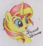 Sunset Shimmer By Marta4708