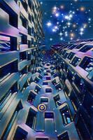 Starry night by delha4