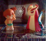 Misty and Milotic
