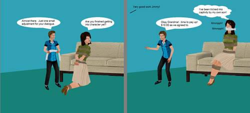 Grandma's Revenge Page 2 by Badger1115
