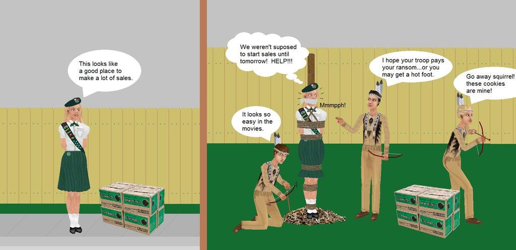 girl scout season by badger1115 on deviantart