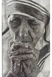 Mother Teresa by wretchedharmony-lina