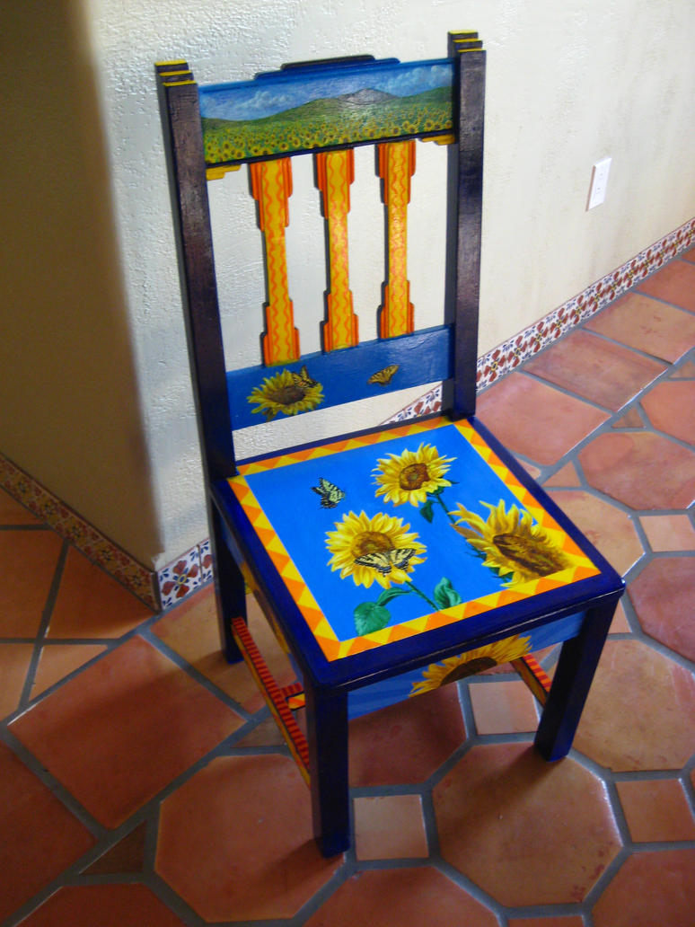 Sunflower Chair By Wretchedharmony Lina ...