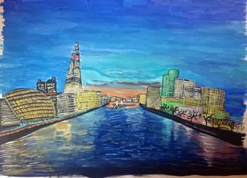 London Skyline by Zyhora