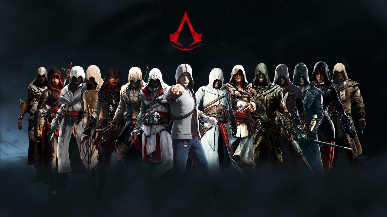 фото всех персонажей из игры ассасин все же