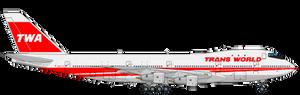 Twa 747 Png