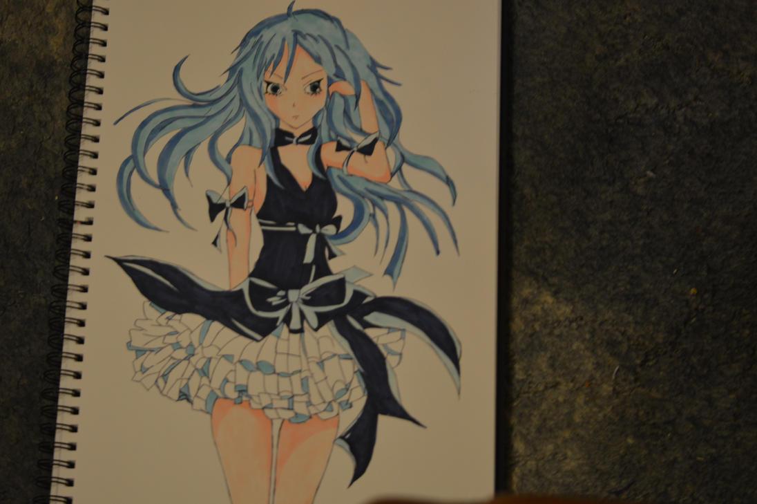 Anime girl by calloyd3