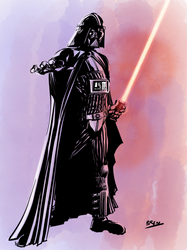 Darth Vader by mightybren