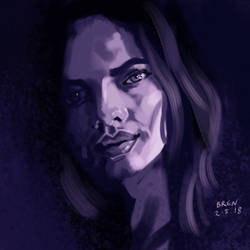 Purple - Portrait Study by mightybren
