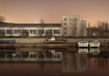 Dry Dark Dock by ondrejZapletal