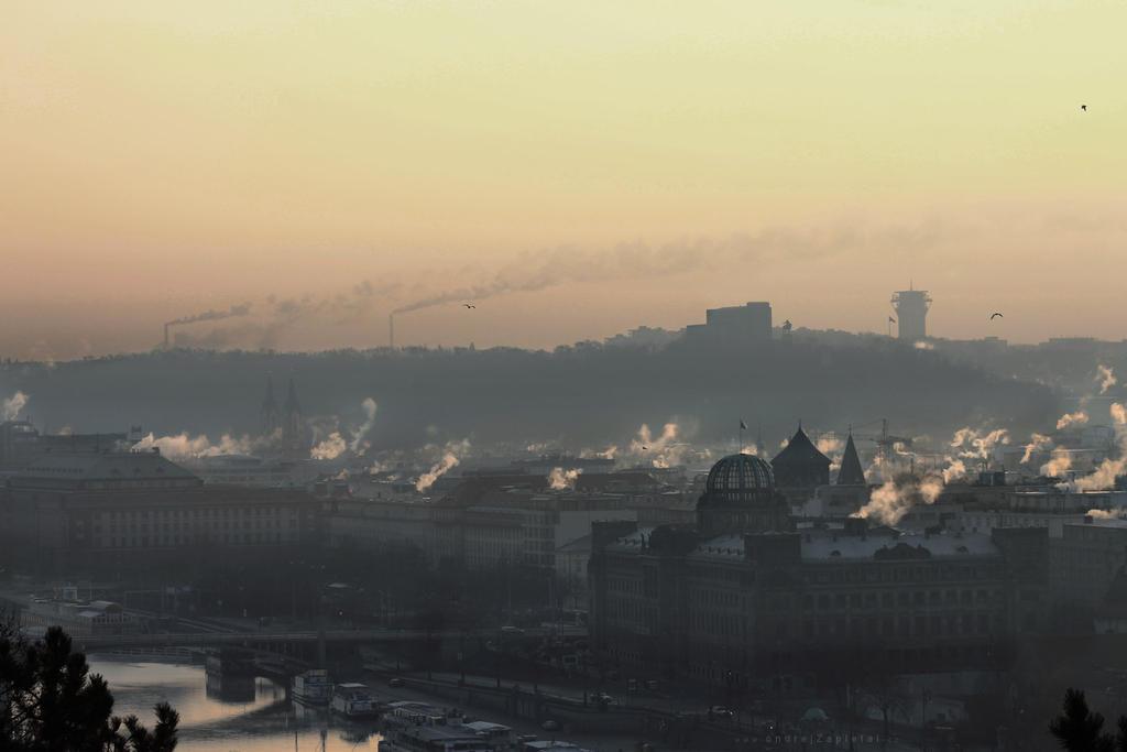 Cold Sunday Morning by ondrejZapletal