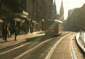 A Weekend Tram by ondrejZapletal