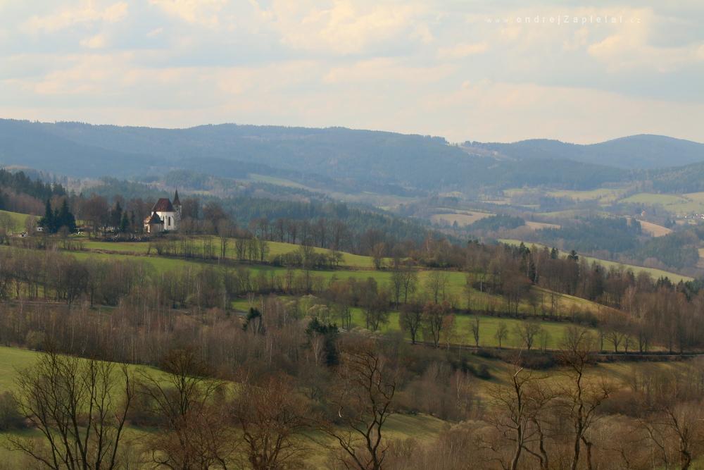 Church on a Hill by ondrejZapletal