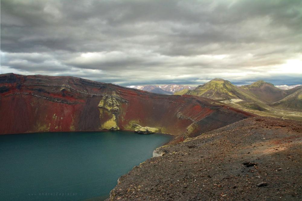 Red Mountain by ondrejZapletal