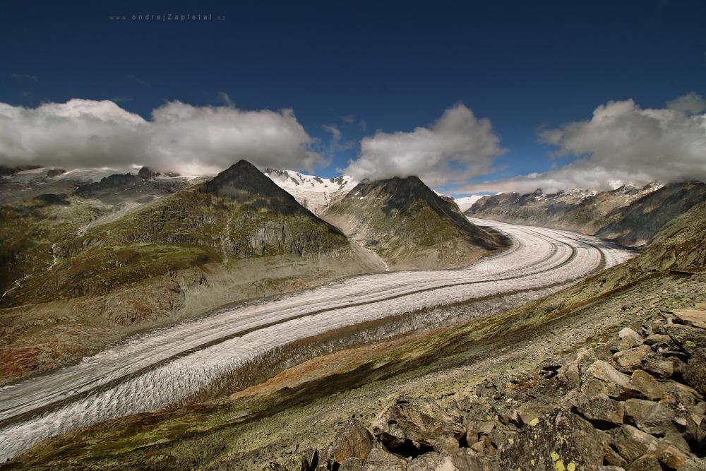 Aletsch Glacier by ondrejZapletal