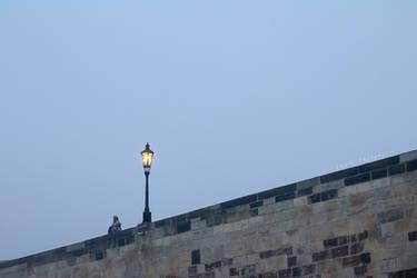 Lamp on a Bridge
