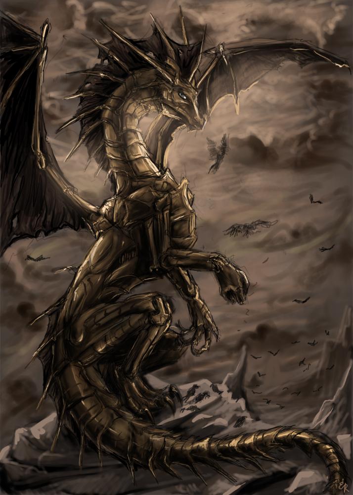 Фото железного дракона