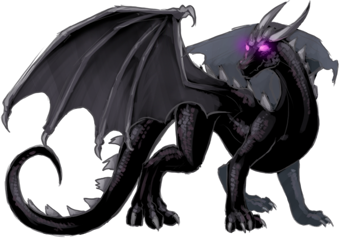 Ender Dragon by EagleRedbeak