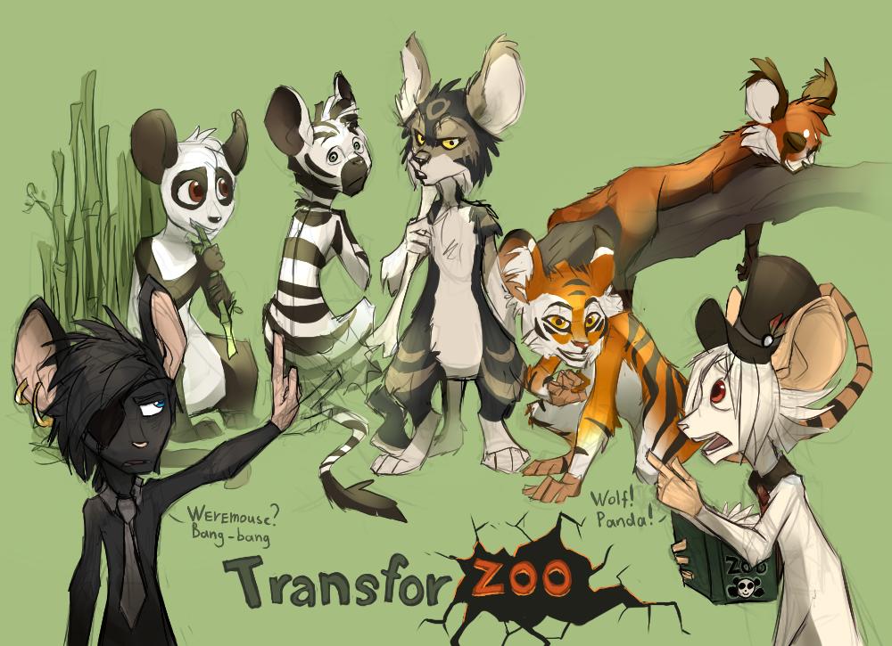 Transfor...zoo? by EagleRedbeak