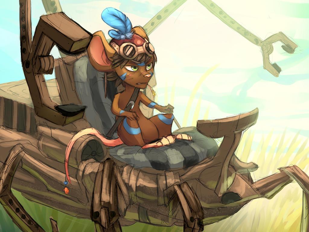Mechanician shaman by EagleRedbeak