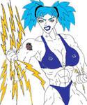 DarkStar vs. Ms.Blitzen pt. 4 Snapped! by Knight3000