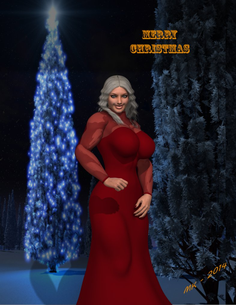 It`s A Blitzen Christmas By Lady-Quantum by Knight3000