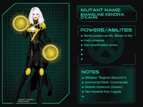 Emmeline Kendra D Khan from Universe X by Kmon13
