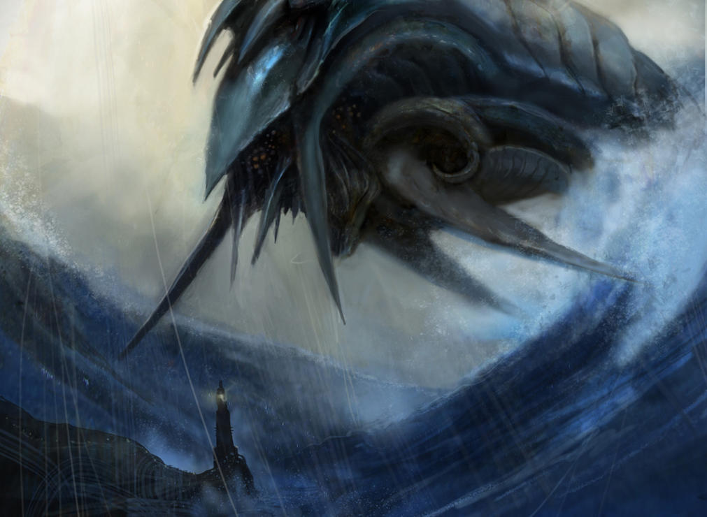 Inkwell Leviathan by Ubermonster on DeviantArt