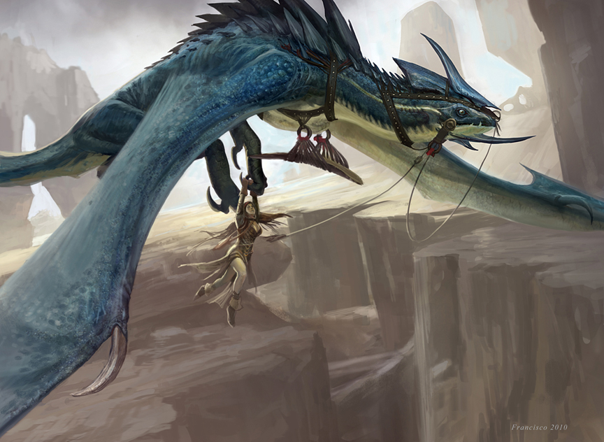 Chasm Drake by Ubermonster