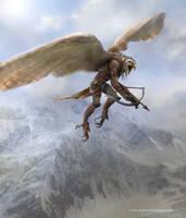 Eagle Warrior by Ubermonster