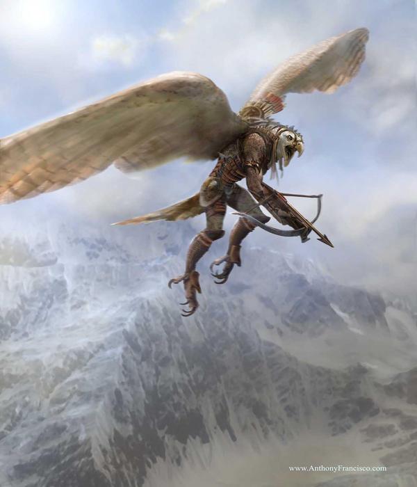 Eagle Warrior by Ubermonster on DeviantArt