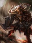 Undead Minotaur Advance