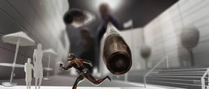 Ant-Man Key Art ( Miniature building Shoot out )