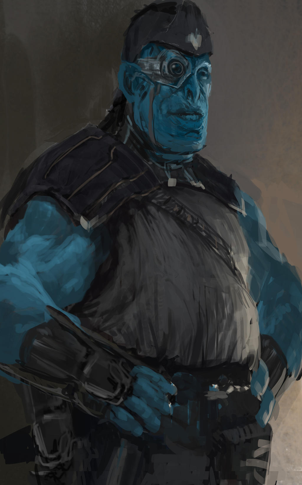 Thanos guardians of the galaxy concept art