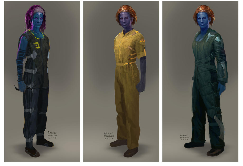 Guardians of the Galaxy - Kiln Prison outfits by Ubermonster ...  sc 1 st  DeviantArt & Guardians of the Galaxy - Kiln Prison outfits by Ubermonster on ...
