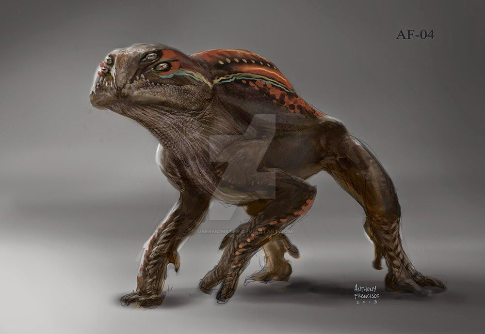 Orlani - concept art for guardians of the galaxy by Ubermonster