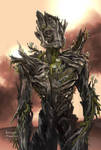 Groot Concept art for Guardians of the Galaxy