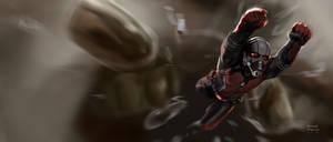 Ant-man Keyframe art