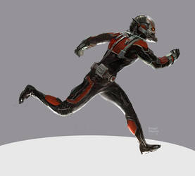 Antman by Ubermonster