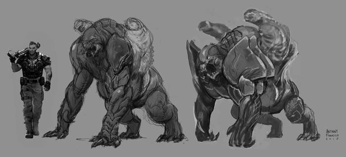 Gears of War 4 Concept art