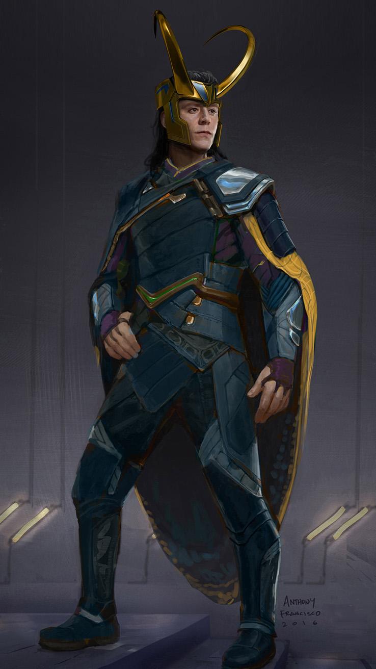 Loki Costume Design For Thor Ragnarok By Ubermonster On Deviantart