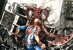 spidey vs carnage finished by justblah