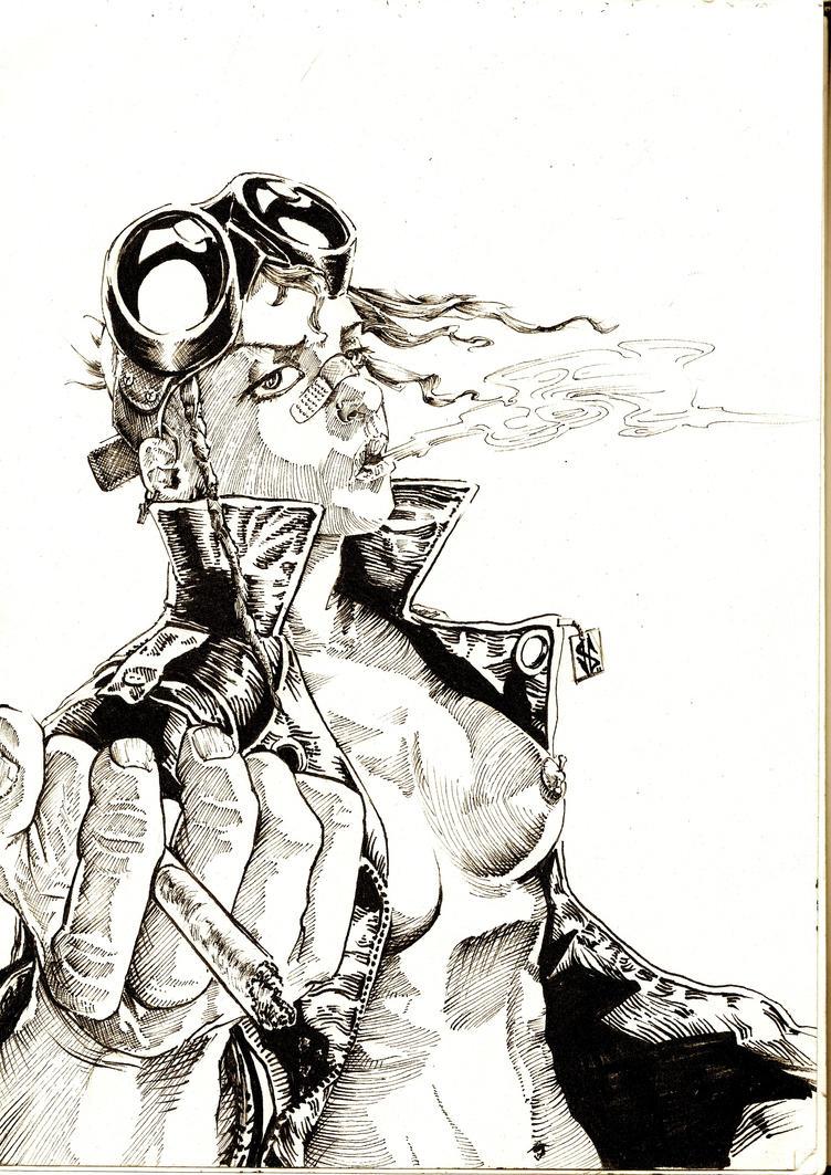 comic Tank girl