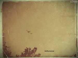 In the sky,far away
